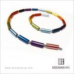 DESIGNBURG 城兆緯 - LEt's GO樂構隨心項鍊 (鋁鎂R_Rainbow彩虹)