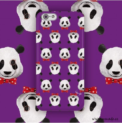 phone case / Mr. Pandada Purple ( LeonLollipop )