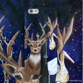 phone case / Dream, my Deer Dream ( LeonLollipop )