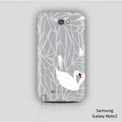 phone case / CRYSTALS and SWANS 2 ( Przemek Sobocki )